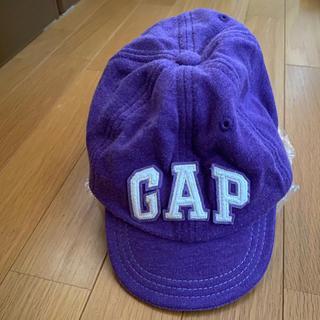 ベビーギャップ(babyGAP)のキャップ babyGAP  パープル(帽子)