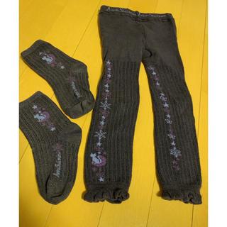 アナスイミニ(ANNA SUI mini)のアナスイミニ  スパッツ 靴下 セット(靴下/タイツ)