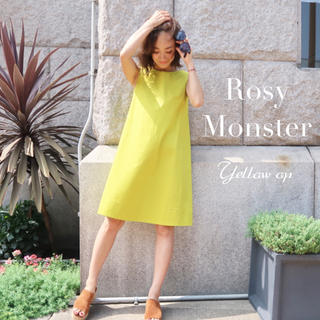 Chesty - Rosy Monster シンプル ワンピースイエロー ロージーモンスター