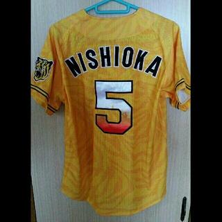 ミズノ(MIZUNO)の阪神タイガース ユニフォーム ウル虎 西岡剛 33(記念品/関連グッズ)