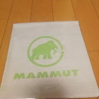 マムート(Mammut)の新品未使用品 MAMMUT マムート レジャーシー 非売品(登山用品)