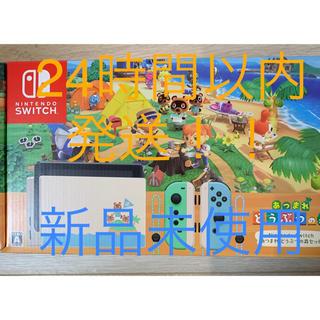 Nintendo Switch - 【新品】任天堂 Nintendo Switch あつまれどうぶつの森セット 本体
