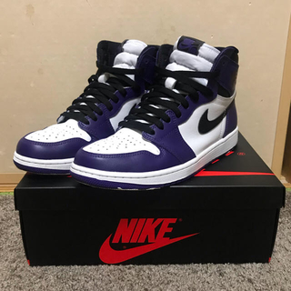 NIKE - NIKE AIR JORDAN 1 RETRO HIGH OG PURPLE