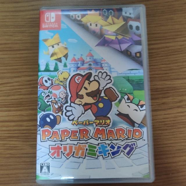 Nintendo Switch(ニンテンドースイッチ)のペーパーマリオ オリガミキング エンタメ/ホビーのゲームソフト/ゲーム機本体(家庭用ゲームソフト)の商品写真
