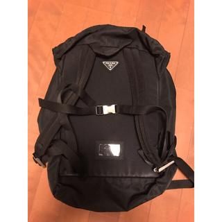 プラダ(PRADA)のプラダのリュック 黒 付属品なし(バッグパック/リュック)