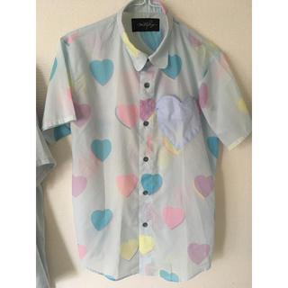 ミルクボーイ(MILKBOY)のmilkboy HEART BOY SHIRTS ハートシャツ(シャツ/ブラウス(半袖/袖なし))