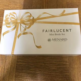 MENARD - メナード フェアルーセント ミニボトルセット