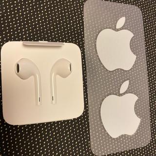 アイフォーン(iPhone)の専用 iPhone11 付属イヤホン 正規未使用品(ヘッドフォン/イヤフォン)