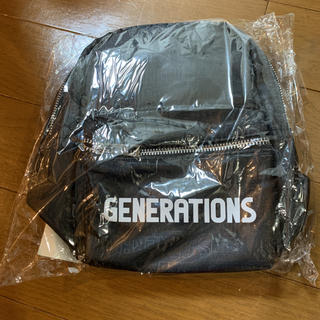 GENERATIONS - ジェネレーション グッズ ミニリュック 2019 少年クロニクル LDH 黒