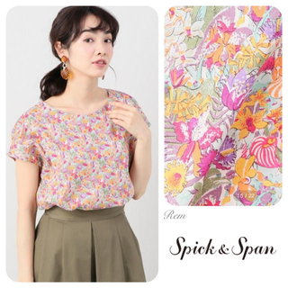 Spick and Span - 定価¥13200/Spick and Span/リバティ ブラウス 2018ss