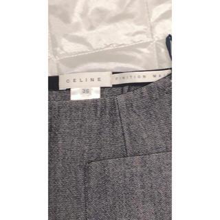 セリーヌ(celine)の【レア出品追加画像】CELINE やまとなでしこ ドラマ使用スカート サイズ36(ひざ丈スカート)
