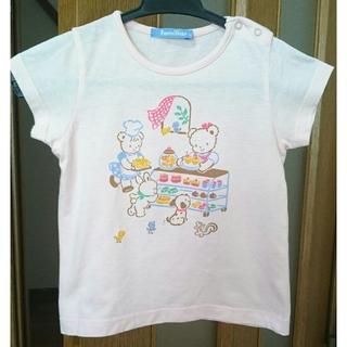 familiar - familiar ファミリア おはなしTシャツ 90㎝ ピンク