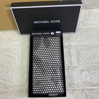 Michael Kors - 【新品・ラスト1個】マイケルコース メンズ ロゴ入りドット 長財布