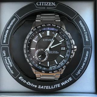 CITIZEN - 美品❗️シチズン エコドライブ GPS電波ソーラー腕時計 CC3005-85E