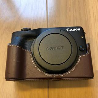Canon - Canon EOS M3 ブラックボディ(純正ボディカバー付き)