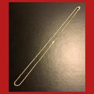 アヴァランチ(AVALANCHE)の⚠️プロフ必読 新品未使用 10K ダイヤモンドカット ロープチェーン(ネックレス)