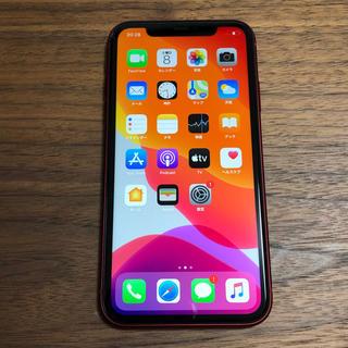 SIMフリー iPhone11 64GB レッド 本体のみ 188