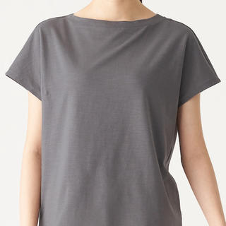 MUJI (無印良品) - 無印良品 ムラ糸 半袖Tシャツ