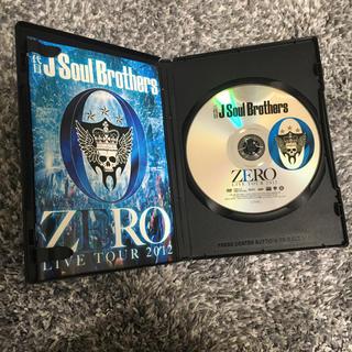 サンダイメジェイソウルブラザーズ(三代目 J Soul Brothers)の三代目JSoulBrothers 0ZERO ライブツアー2012 DVD(ミュージック)