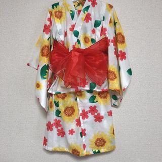 ニシマツヤ(西松屋)の西松屋 浴衣 110(甚平/浴衣)