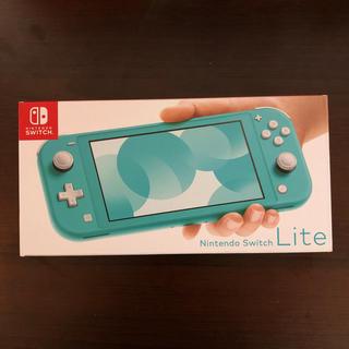 Nintendo Switch - 【新品未開封】Nintendo Switch Lite ターコイズブルー