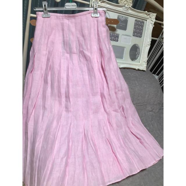 Spick and Span(スピックアンドスパン)のスピック  &  スパン  新品  リネンロングスカート レディースのスカート(ロングスカート)の商品写真