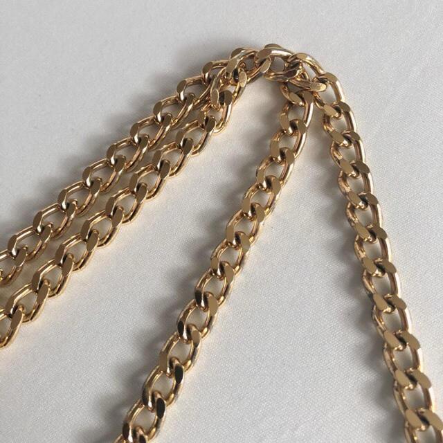 TODAYFUL(トゥデイフル)のゴールドチェーンメッシュ編みショルダーバッグ自然素材チェーンバッグ肩掛けバッグ レディースのバッグ(ショルダーバッグ)の商品写真