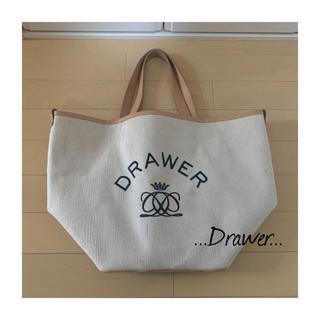 Drawer - 2019SS ドゥロワー ノベルティ トートバッグ drawer ノベルティー