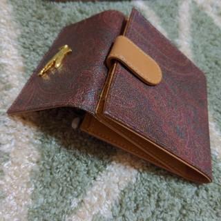 エトロ(ETRO)のETRO 3つ折り ホック式 財布(財布)