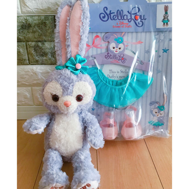 ステラ・ルー(ステラルー)の香港ディズニー♥️ステラルーぬいぐるみSコスチューム エンタメ/ホビーのおもちゃ/ぬいぐるみ(キャラクターグッズ)の商品写真