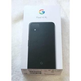 ソフトバンク(Softbank)のGoogle Pixel 4 XL ブラック 64GB SIMフリー+おまけ2(スマートフォン本体)