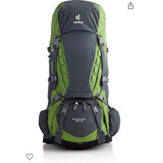 ドイター(Deuter)の値下げ⭐︎ドイター エアコンタクト65+10(登山用品)