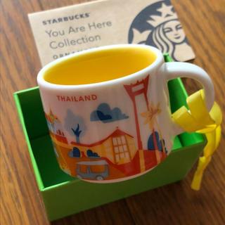 スターバックスコーヒー(Starbucks Coffee)のスタバ タイ 限定オーナメント 59ml(グラス/カップ)