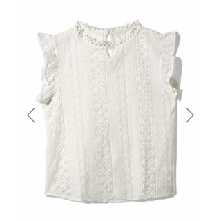 GRL - GRL レースブラウス ホワイト 白 人気 春 夏 韓国ファッション