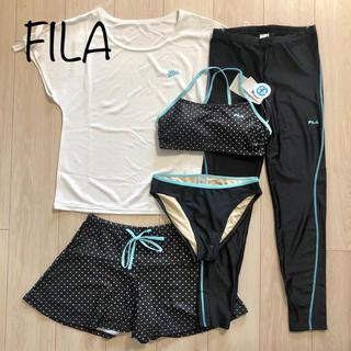 FILA - 新品 FILA 水陸両用 水着 フィットネスウェア WT M ドット