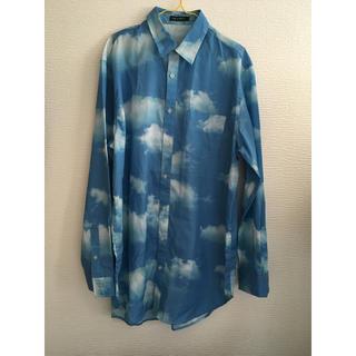 ミルクボーイ(MILKBOY)のmilkboy cloudy long shirts 青空 ブルースカイ シャツ(シャツ/ブラウス(長袖/七分))