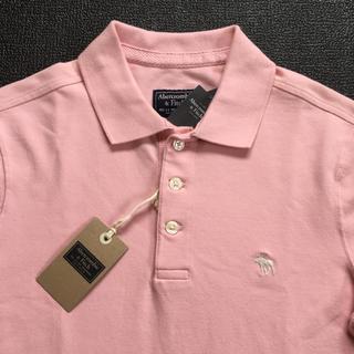 アバクロンビーアンドフィッチ(Abercrombie&Fitch)の新品Abercrombie&Fitch アバクロ アイコンポロシャツXS送料込み(ポロシャツ)