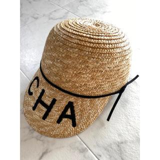 CHA 麦わら帽子 ストローハット