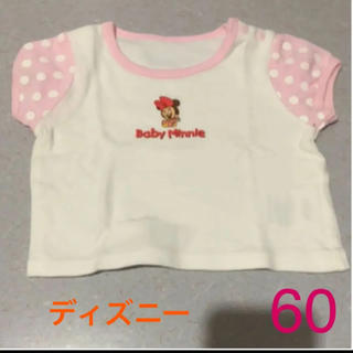 Disney - 女の子 Baby  Minnie 半袖Tシャツ★60«未使用»