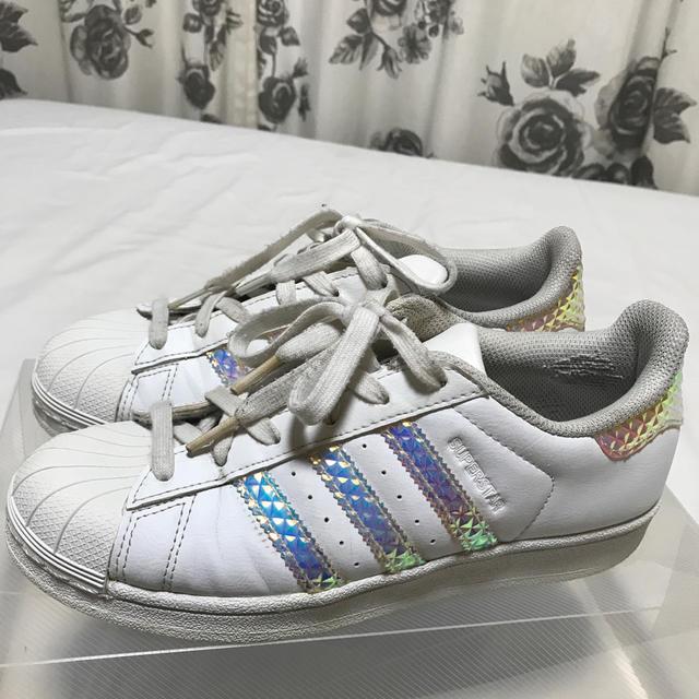 adidas(アディダス)のadidas スーパースター 24cm レディースの靴/シューズ(スニーカー)の商品写真