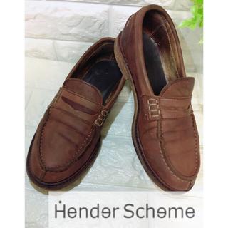 エンダースキーマ(Hender Scheme)のエンダースキーマ HENDER SCHEME 約23.5cm 箱付き ローファー(ローファー/革靴)