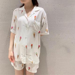 gelato pique - アイスモチーフ シャツ ショートパンツ ◆ジェラートピケ 新品未使用 上下セット