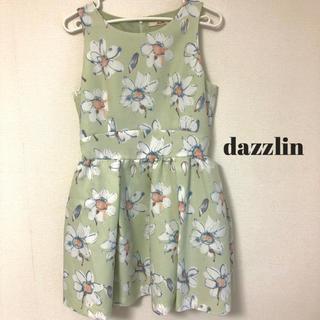 dazzlin - dazzlin ダズリン 花柄 ワンピース レディースワンピース