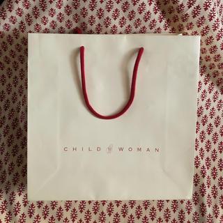 チャイルドウーマン(CHILD WOMAN)のCHILD WOMAN ショップ袋(ショップ袋)