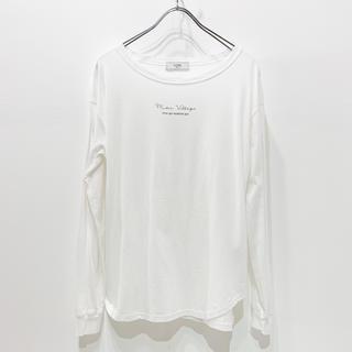 イエナスローブ(IENA SLOBE)のSLOBE IENA【mon village ロゴTシャツ】(Tシャツ(長袖/七分))