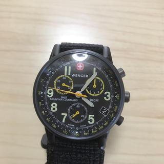 ウェンガー(Wenger)のwenger クロノグラフ  美品 腕時計。(腕時計(アナログ))