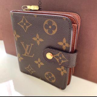 LOUIS VUITTON - 正規品ルイヴィトンコンパクトジップ 折財布