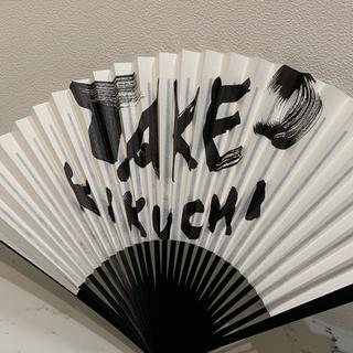 タケオキクチ(TAKEO KIKUCHI)の【新品・未使用】扇子 TAKEO  KIKUCHI 吉川壽一(その他)