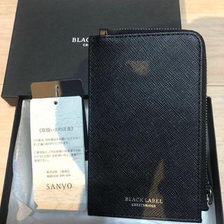ブラックレーベルクレストブリッジ(BLACK LABEL CRESTBRIDGE)の新品 ブラックレーベルクレストブリッジ レザー ミニ財布 (長財布)
