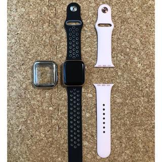 アップルウォッチ(Apple Watch)のApple Watch series4 40mm GPS ゴールド(腕時計(デジタル))